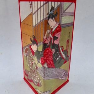 Handbags - Stunning Japanese Geishas Washi Paper Wallet